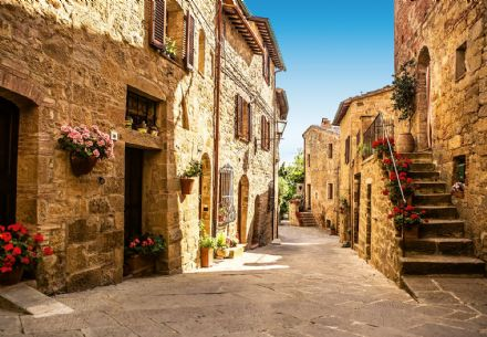 Photo wallpaper Tuscany Village